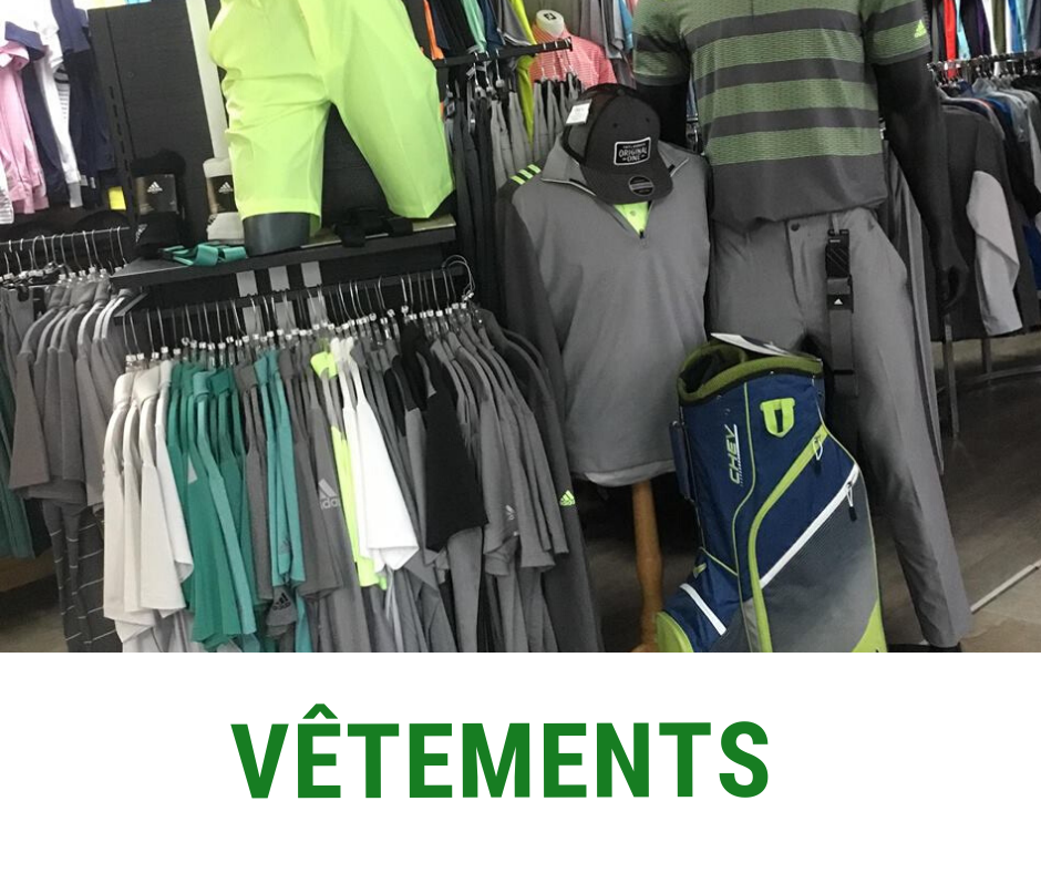 Vêtements de golf